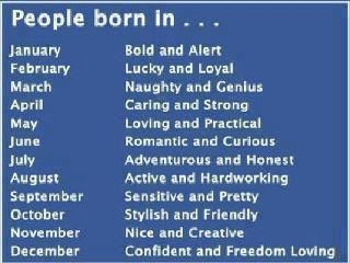 Astrology.i was born in march.