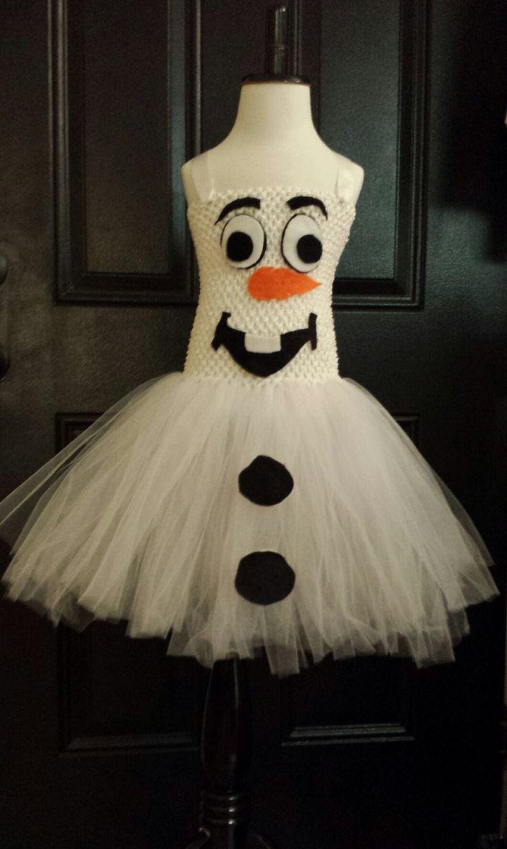 Olaf Inspired Tutu Dress