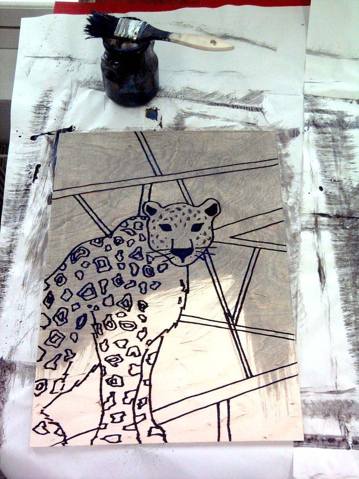 Making of puupiirros
