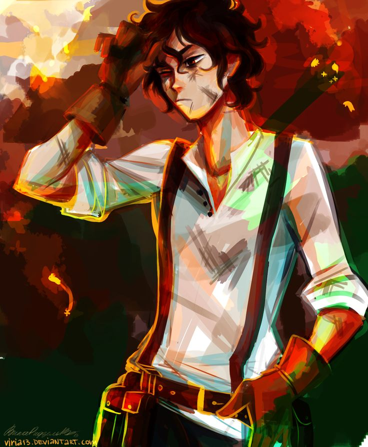 percy jackson and the heroes of olympus fan art viria - Google Search<<< I got Percy!