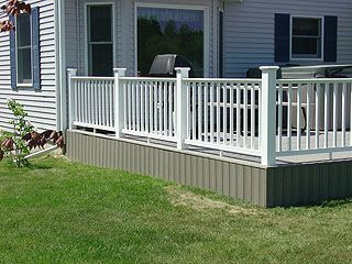 How To Build Deck Skirting To Hide Building A Deck