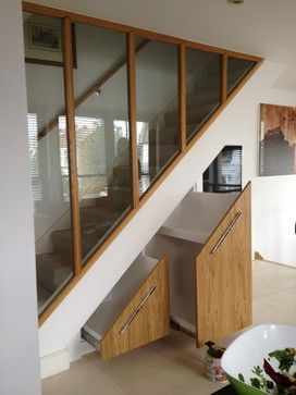 Under Stairs cupboard - contemporary - Wardrobe Storage - Other Metro - Clive Anderson Bespoke Furniture