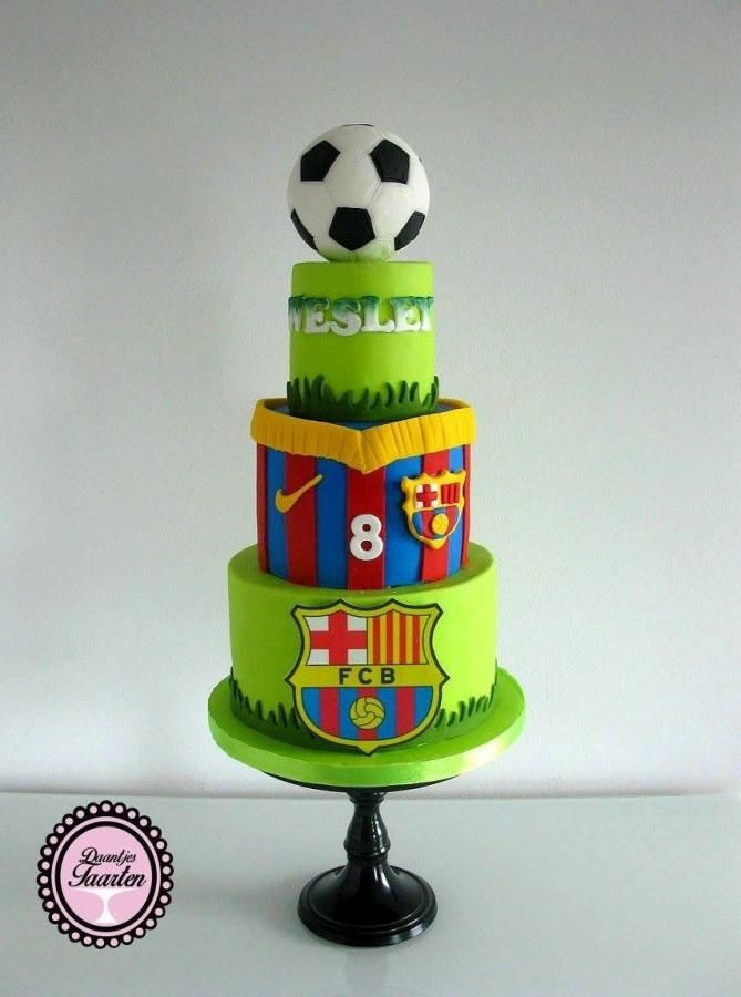 Barcelona - Cake by Daantje