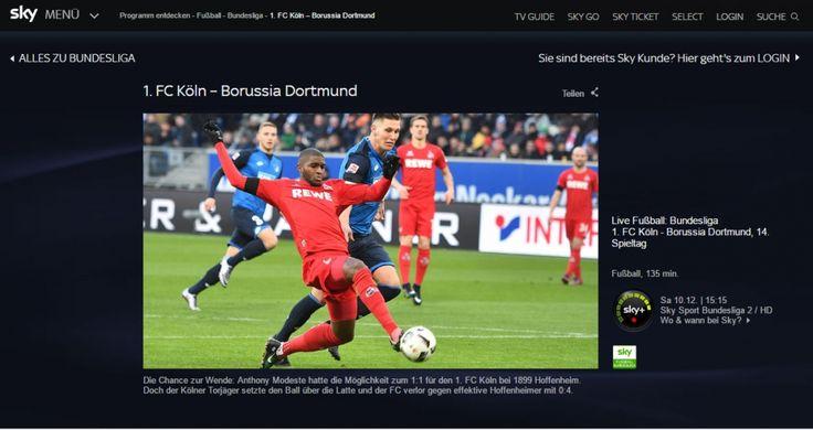 Bundesliga-Samstag online schauen: Bayern vs. Wolfsburg Köln vs. BVB und viele mehr - http://ift.tt/2hf4Asc #nachricht