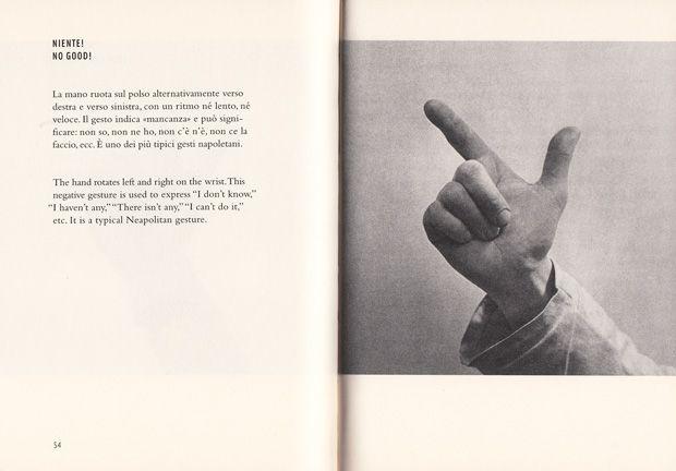 Suplemento al Dizionario italiano  negacion_munari_gestures14  Niente