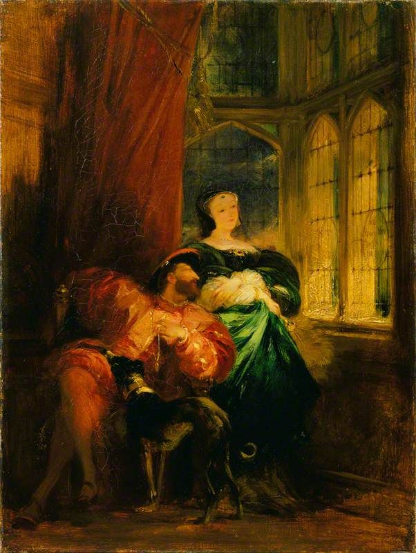 The Athenaeum - Francois Ier and Marguerite de Navarre (Richard Parkes Bonington - )