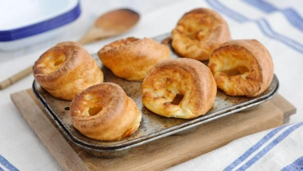 What's a Sunday roast without a crisp, hot Yorkshire pudding? Best cooked in beef dripping, but you can use vegetable oil as well.