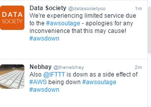 Another Cloud Outage (#awsdown this time) Another Group of Companies Show They Dont Have DR