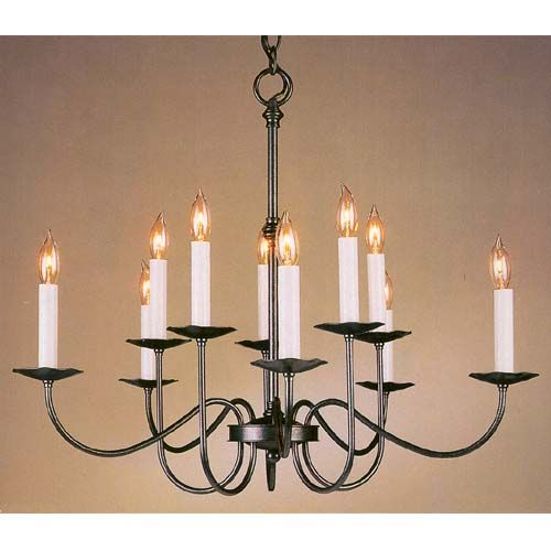 Natural Iron Chandelier Hubbardton Forge Candles Without Shades Chandeliers Ceiling Lighti