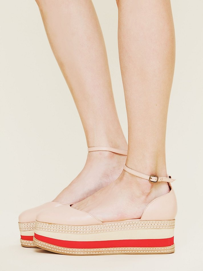 Jeffrey Campbell Stacked Shirley Platform at Free People Clothing Boutique