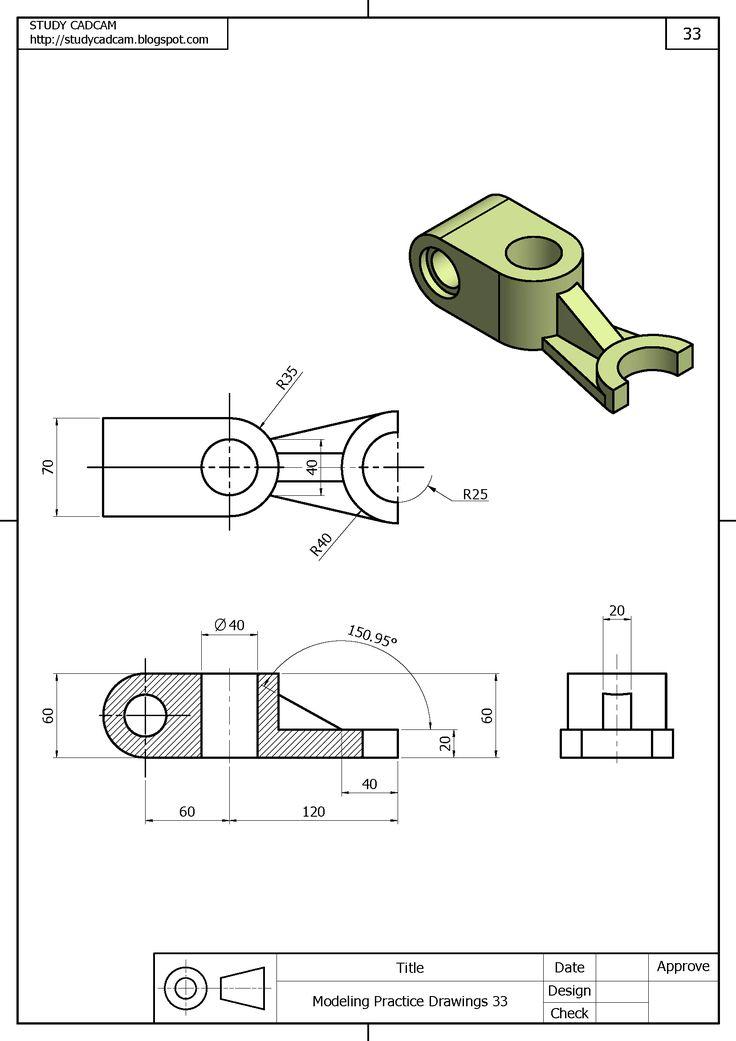 293 best Mechanical drawings / Blueprints / CAD Drawings