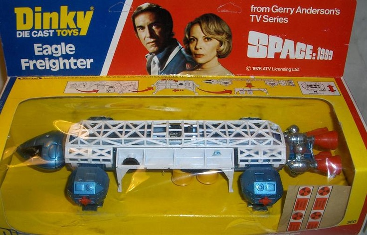 DINKY TOYS EAGLE SPACE 1999