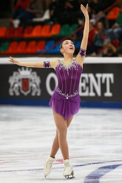 ICE STYLE.....2014 Rostelecom Cup Figure Skating Costumes: LADIES, MEN | Nick Verreos