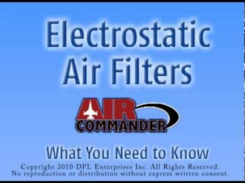 Electrostatic Air Filters - What You Need to Know
