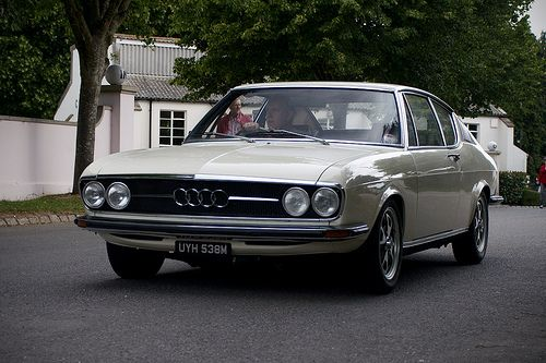 Audi 100 Coupe S.. it goes perfect with my style :)