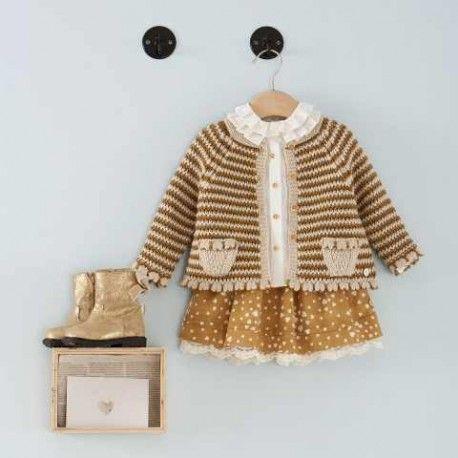 Falda para niña estampada otoño invierno 2017 de Pili Carrera, idea para la princesa de la casa