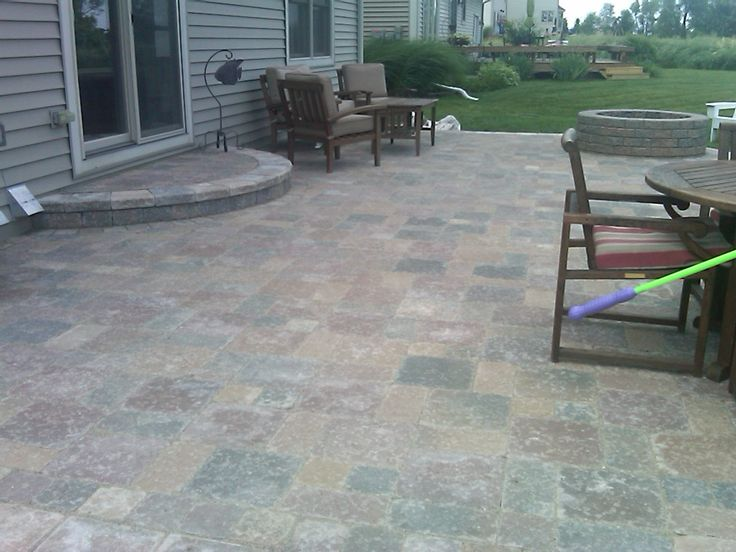 25 great stone patio ideas for your home brick paver - Brick Paver Patio Designs