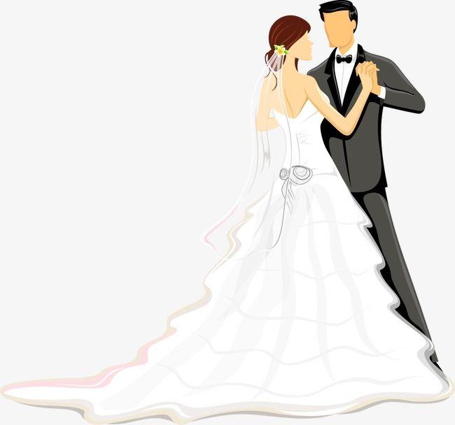Bride And Groom Png And Vector Wedding Couple Cartoon Bride Wedding Couples
