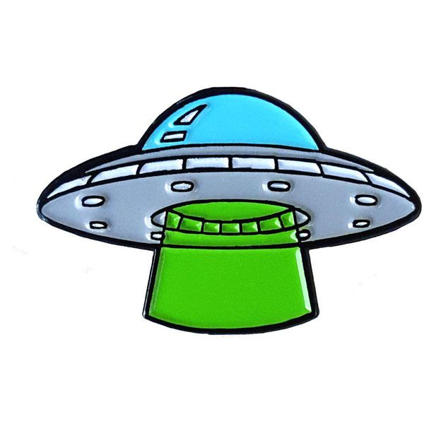UFO Enamel Pin ❤ liked on Polyvore featuring jewelry, brooches, enamel brooch, enamel jewelry, pin brooch and pin jewelry