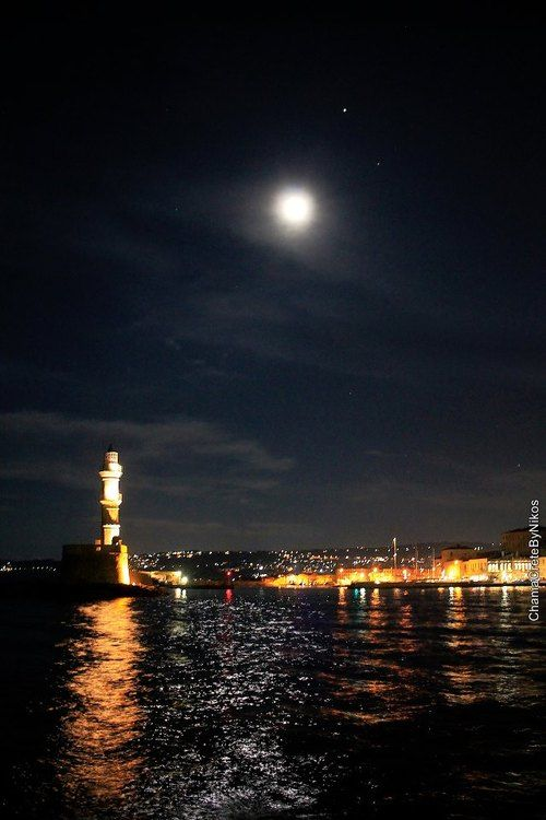 VISIT GREECE| Fullmoon #Chania #Crete