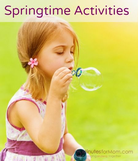 Ask the @Lisa (The Domestic Life Stylist): Spring Activities for Kids