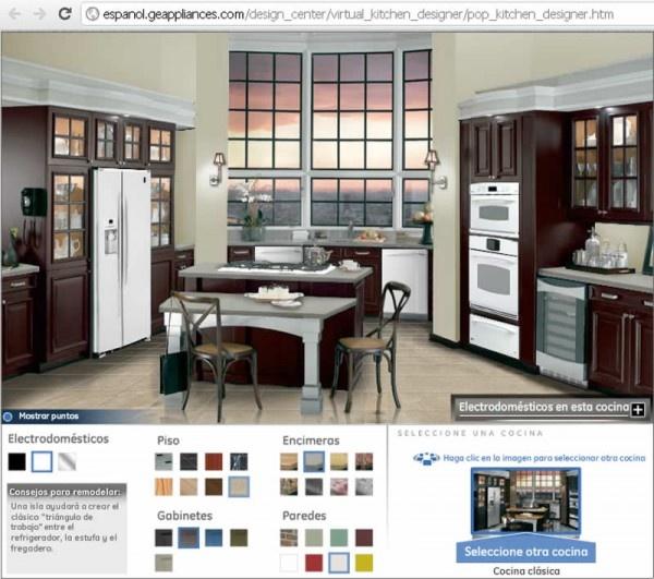 Simulador de cocinas peque as y no tanto cocinas for Simulador de cocina