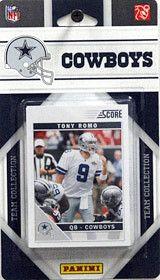 Dallas Cowboys 2011 Score Team Set