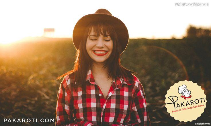 Mulai dan awali setiap hari dengan senyuman untuk memberikan mood terbaik Anda dalam menghadapi hari.#MotivasiPakaroti