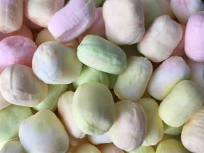 These delicious sweets come a great range of vibrant colours; they are a delicious soft, fruity rock, rather like Edinburgh Rock.