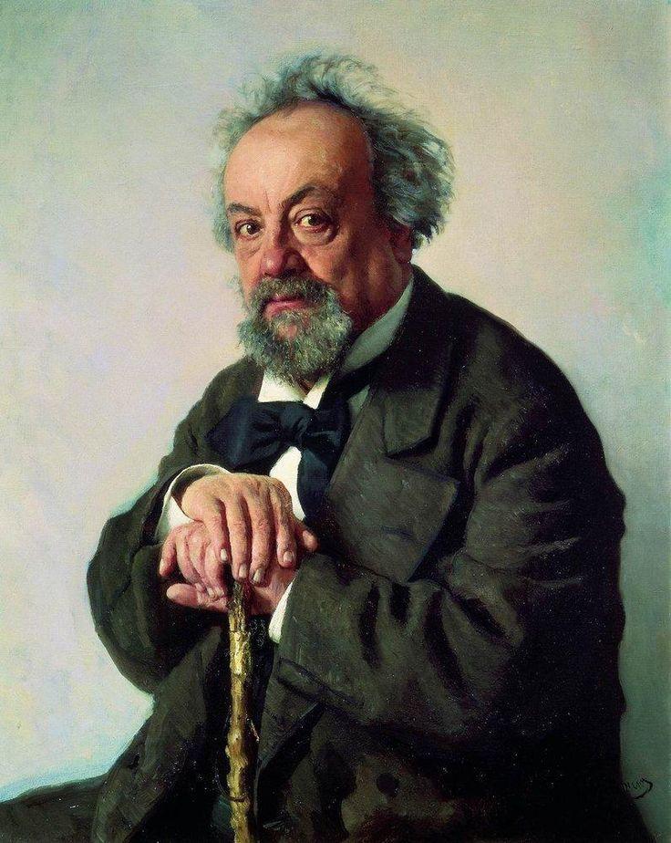 Ilya Repin -  portrait of Aleksey Pisemsk