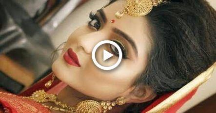 Airbrush Makeup || Indian Wedding Makeup and Hair Tutorial #airbrush #Hair #in…