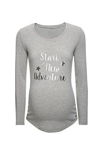 #Bellybutton #Maternity #Damen #Umstands #Langarmshirt #T #Shirt #1/1 #Arm, #Grau #(Stone #Beige #Melange|Gray #8105), #34 #(Herstellergröße: #XS) Bellybutton Maternity Damen Umstands Langarmshirt T-Shirt 1/1 Arm, Grau (Stone Beige Melange|Gray 8105), 34 (Herstellergröße: XS), , , , , ,