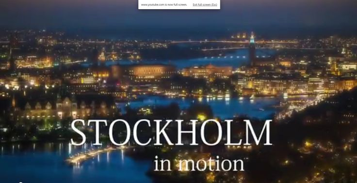 STOCKHOLM IN MOTION - Hyperlapse Time-Lapse