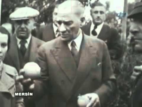 ✿ ❤ Mustafa Kemal Atatürk^ün çeşitli İllerimizi  kapsayan yurt gezisinden  Bilinmeyen Videosu