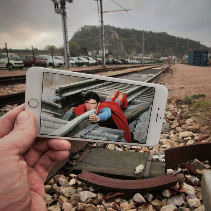 Superman (1978) 19 Creative Photos That Perfectly Combine Movie Moments With Real Life • Page 2 of 6 • BoredBug