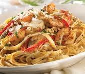 TGI Friday's Cajun Shrimp and Chicken Pasta