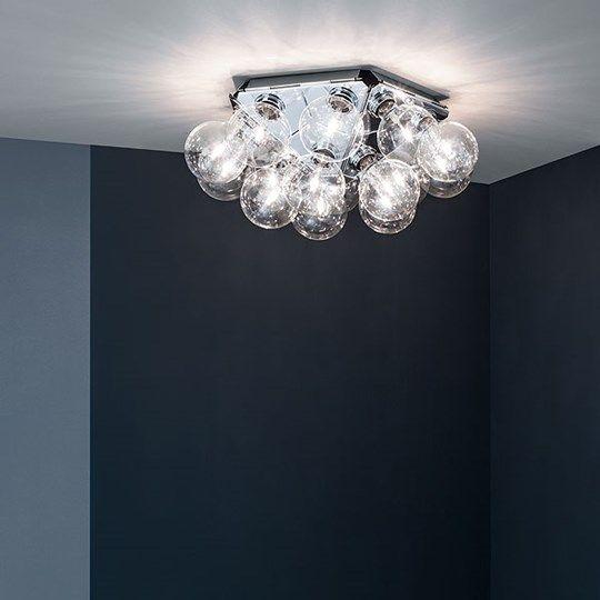 Taraxacum 88 C/W: Lernen Sie das Modell Taraxacum 88 C/W kennen, eine Wand- und Deckenlampe von Flos