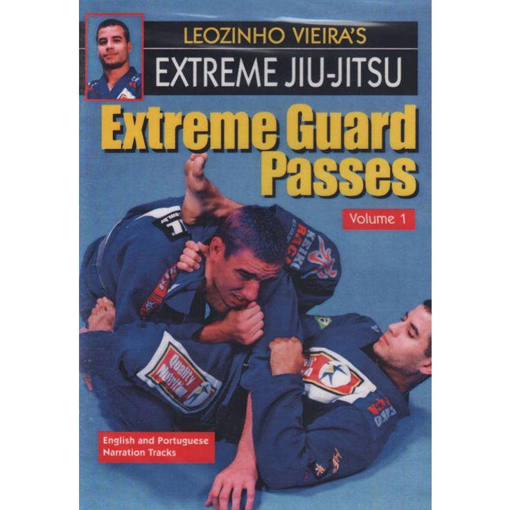 Extreme Jiu-Jitsu #1 Guard Passes DVD Leozinho Vieira mma nhb