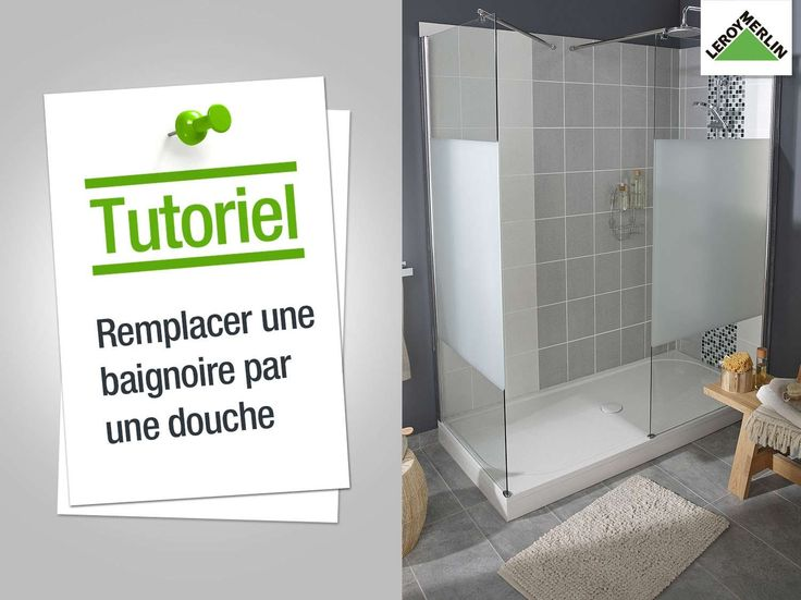17 best ideas about douche leroy merlin on pinterest - Baignoire douche leroy merlin ...