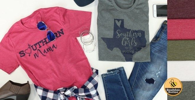 Made of super-soft fabric, these boyfriend fit tees are sure to become your new favorite! Sweet Southern Girl sayings are all the rage and these 3 custom screen printed designs are the cutest you've seen!  XS-XL