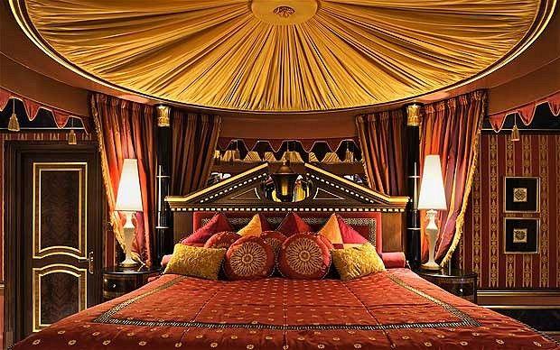 Gamour setting: 9 Royal Suite, Burj Al Arab, Dubai