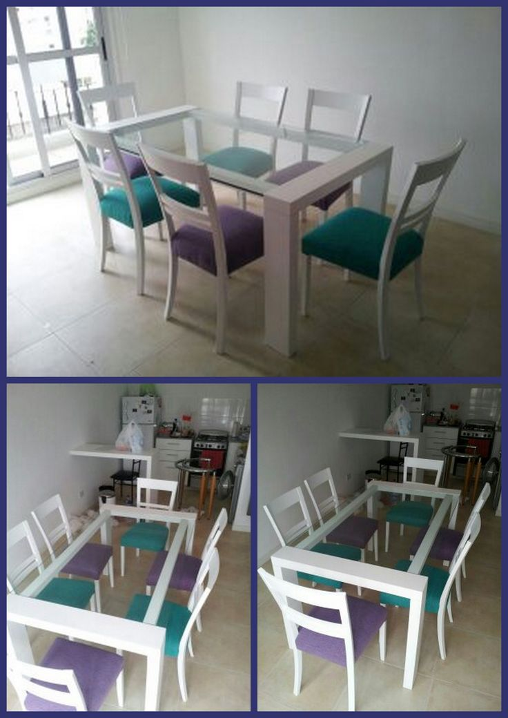 17 best images about mesas living comedor on pinterest for Sillas para living