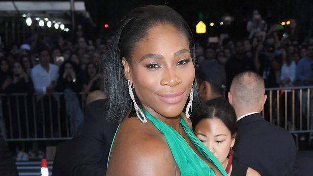 Serena Williams's Baby Bump Makes a Radiant Red Carpet Debutat the Met Gala