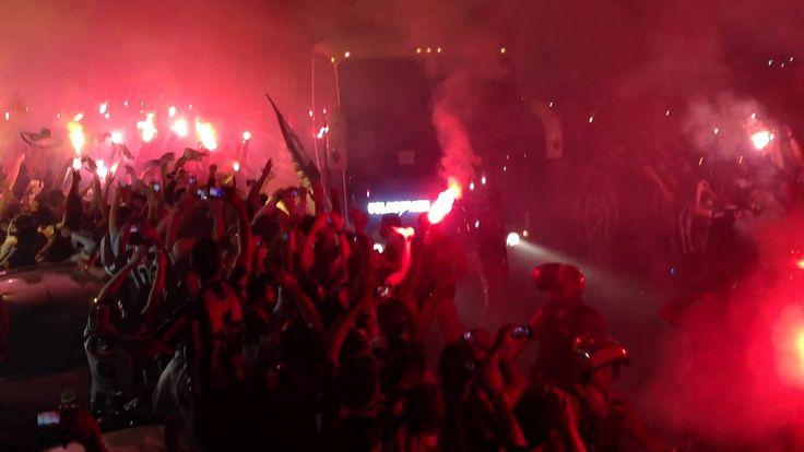 Rua de fogo - Atlético 4x1 São Paulo (Libertadores 2013)