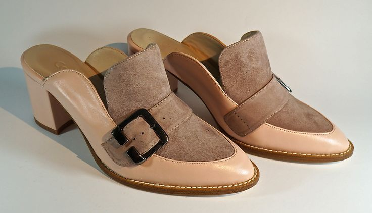 Hand Made Leather Footwear. Lamb's Leather with Buff. LM-005