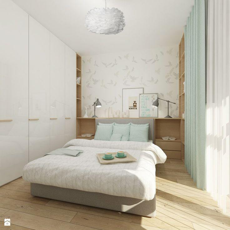 Sypialnia styl Skandynawski - zdjęcie od 4ma projekt - Sypialnia - Styl Skandynawski - 4ma projekt