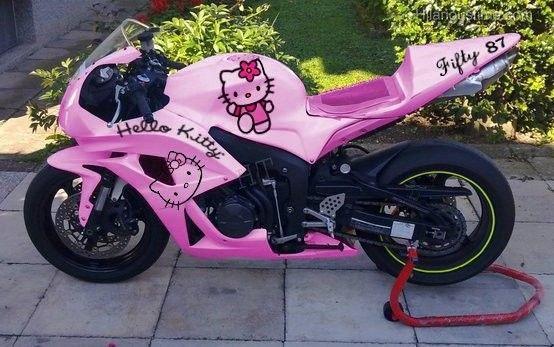 Hello Kitty Motorcycle | Hello kitty bike