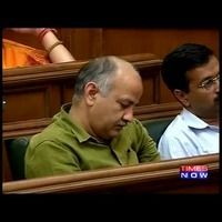 What The... !! AAP deputy CM, Manish Sisodia is caught sleeping inside the Delhi Assembly, during a special session. <div><br>Now AAP leaders, who love to preach, are caught doing exactly what our other corrupt BJP/Congress leaders do.</div><div><br></div><div>What's the difference between the two?</div> itimes.com