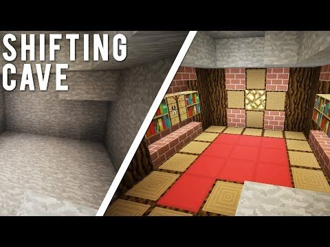 Minecraft Redstone | How to Make a Secret Room in 10 Seconds! | HIDDEN ROOMS! (Minecraft Redstone) - YouTube