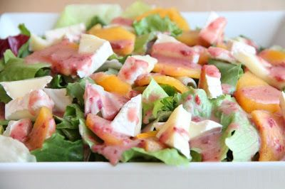 Salatka z owocem kaki